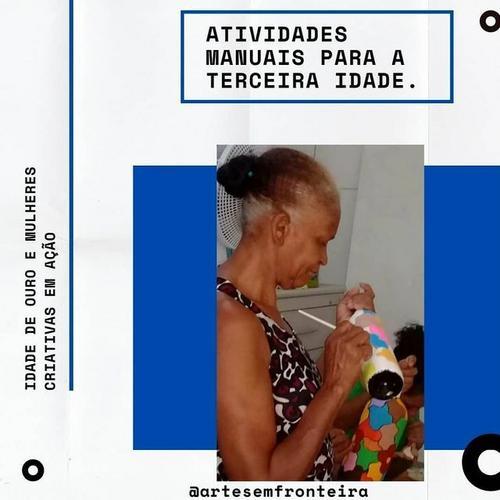 IDADE DE OURO - IDOSAS EM AÇÃO